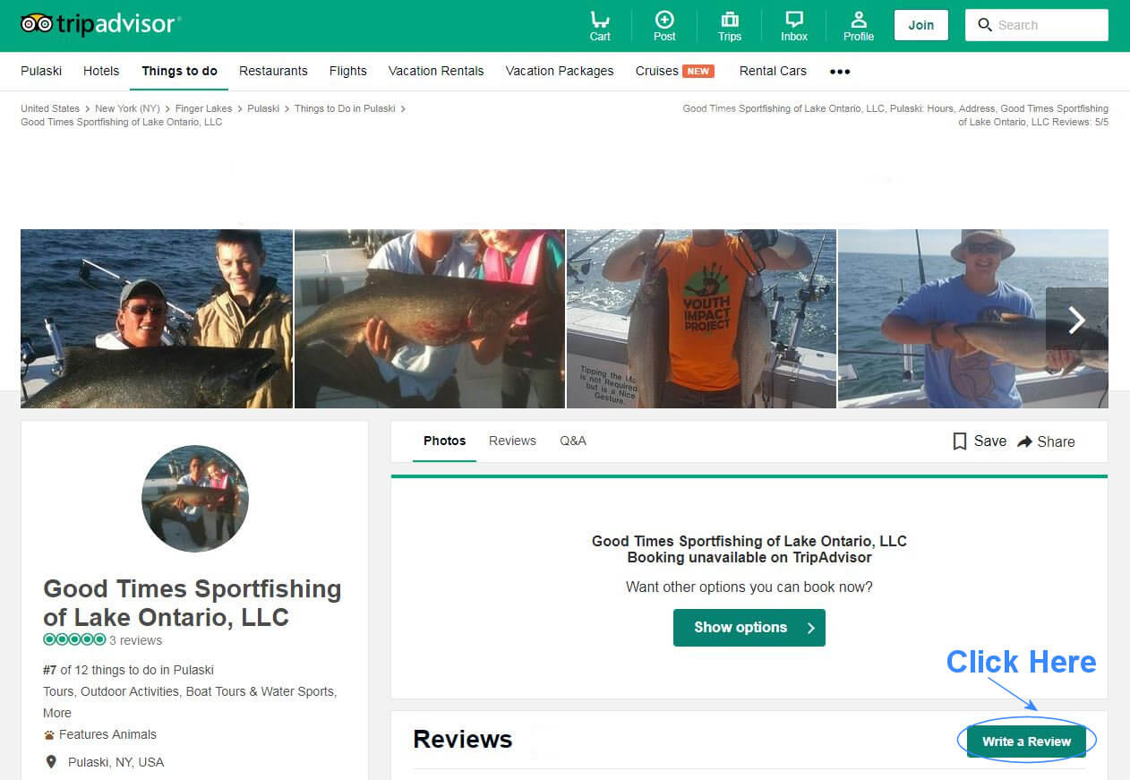 Good Times Sportfishing TripAdvisor